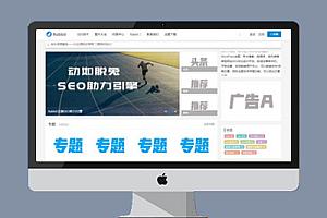 WordPress博客自媒体资讯类主题源码 SEO优化良好  RabbitV2.0