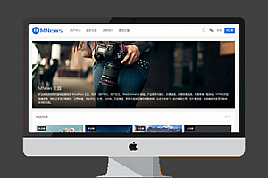 WordPress《新闻自媒体》摄影类 图片类主题源码 MNews V2.4 完整版