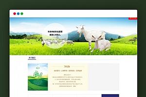 【织梦餐饮美食行业模板】简洁大气食品企业网站模板[DEDECMS内核]