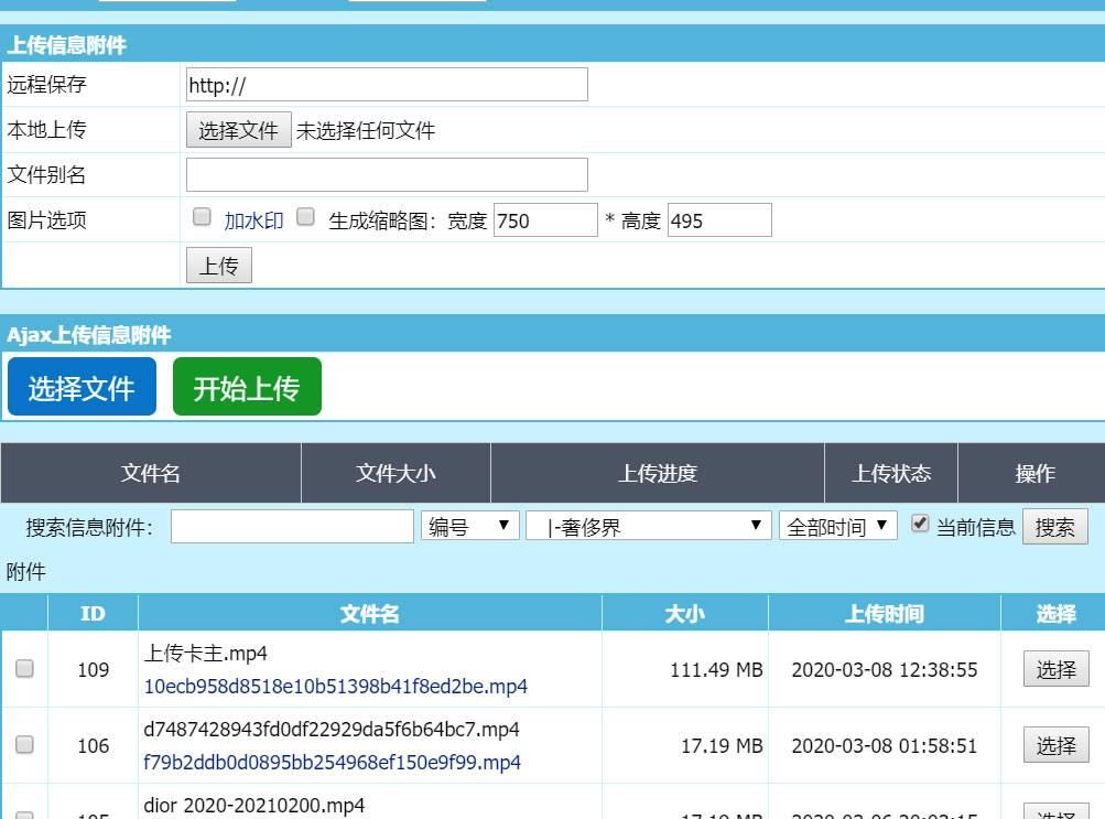 windows系统服务器IIS+PHP解决大文件上传最后出现500出错问题(亲测解决) 帝国CMS教程